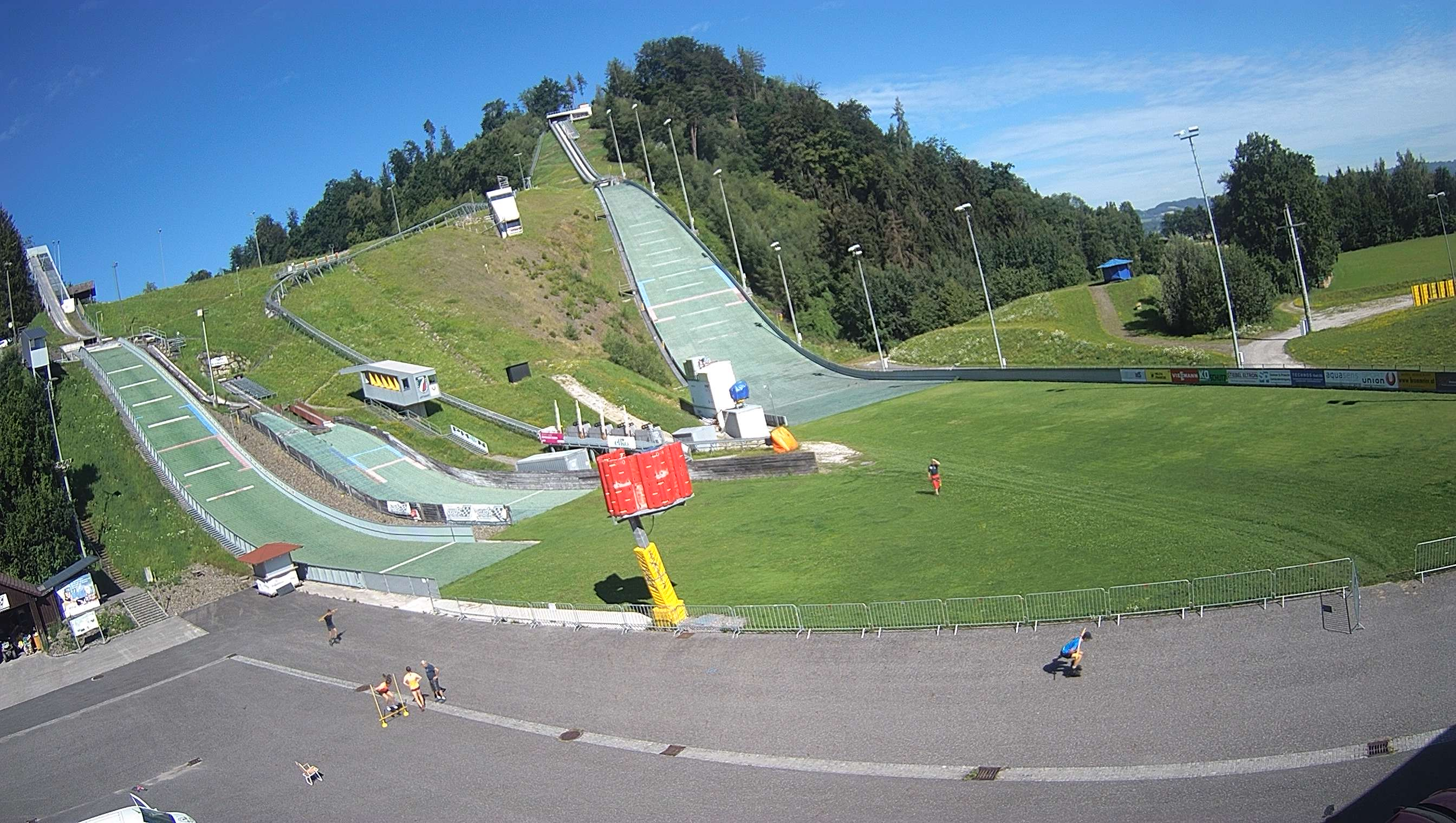 Skisprungschanze Hinzenbach Webcam
